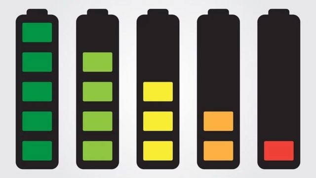 バッテリー残量